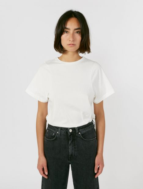 Espera Organic Cotton Tee - Off White