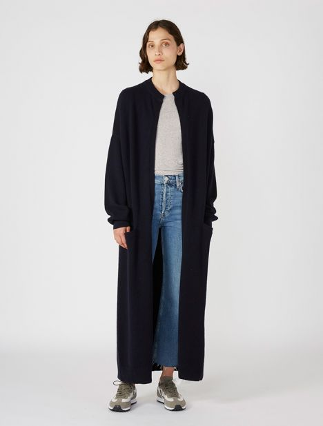 n°105 Big Cashmere Cardigan - Navy