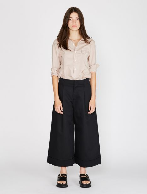 Far Wide-Leg Trouser - Black