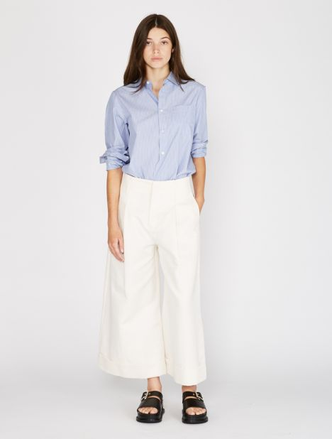 Far Wide-Leg Trouser - Off White