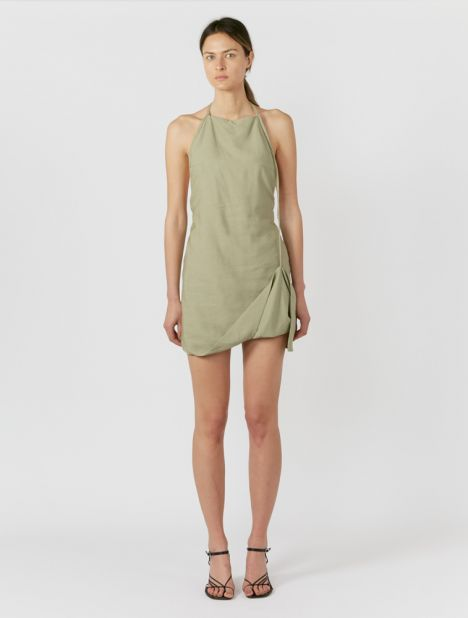 Figuerolles Halterneck Mini Dress