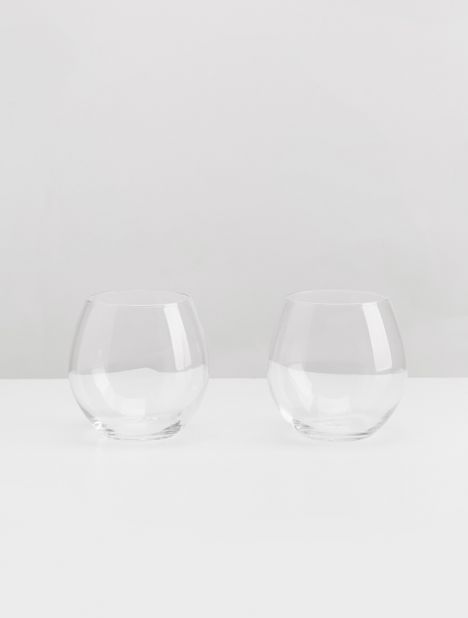 Fino Stemless Wine Glass Set