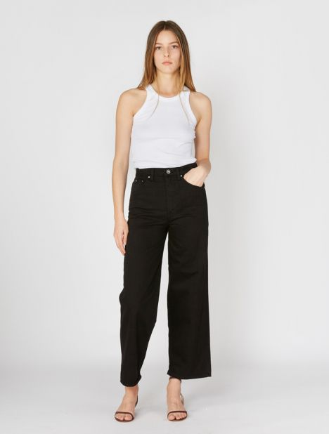 Flair Wide Leg Jean - Black