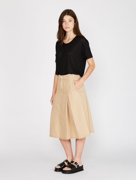 Flirt Cotton Linen Skirt