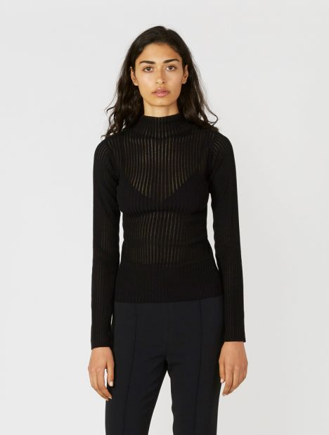 Cotton Float Long Sleeve Knit