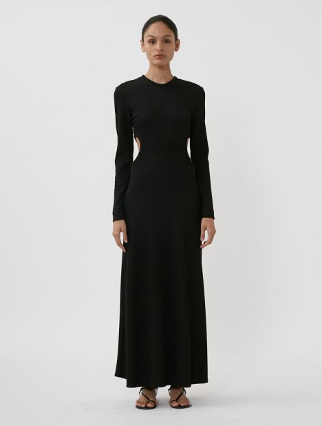 Fran Negative Space Long Sleeve Dress