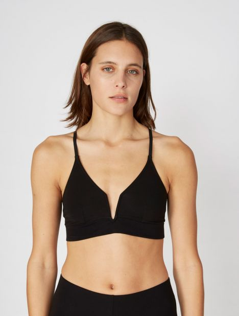 Garcelle Organic Cotton Two-Way Bralette