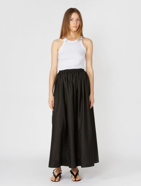 Gathered Long Skirt