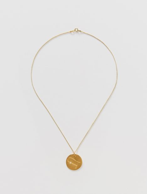Gemini Zodiac Constellation Pendant Necklace