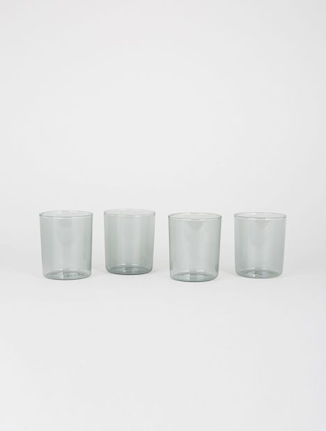 Medium Drinking Glass Set - Smoke