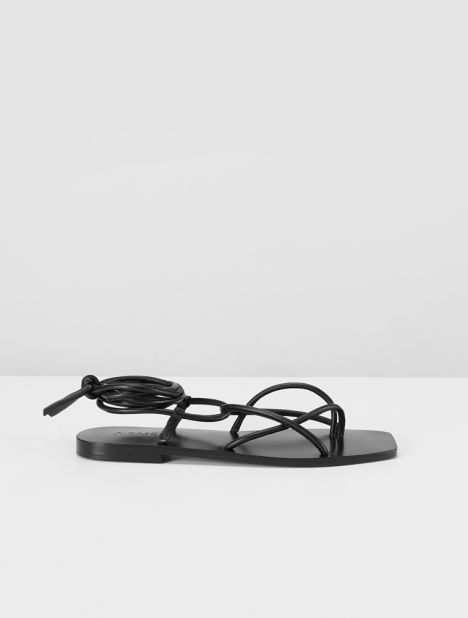 Hazel Leather Sandal