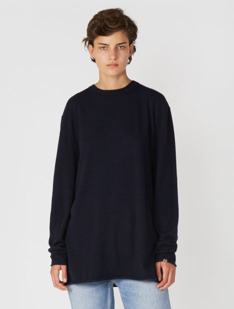 n°136 Hein Cashmere Sweater - Navy