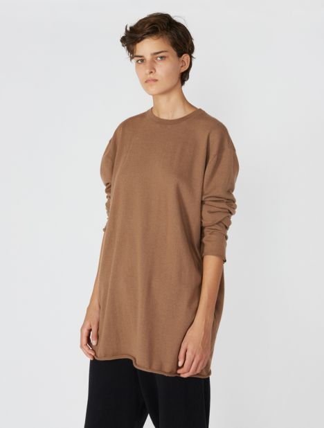 n°136 Hein Cashmere Sweater - Tan
