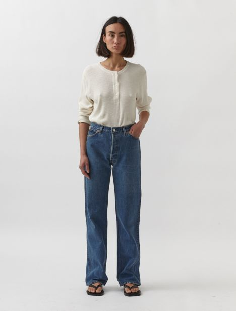 X Levis High-Rise Loose Jean