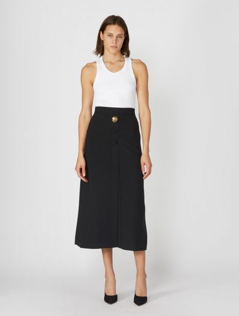 Homework A-Line Yoke Skirt