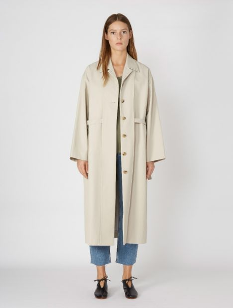 Inside Out Trench Coat