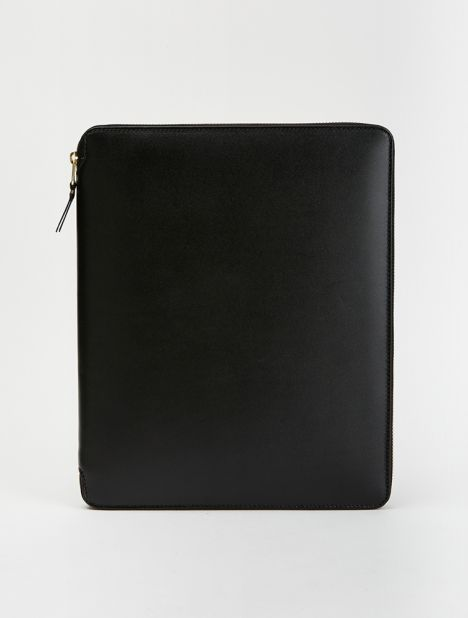 Classic Leather iPad Zip Pouch