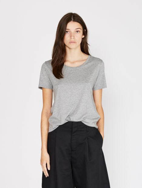 Jersey One Tee - Grey Melange