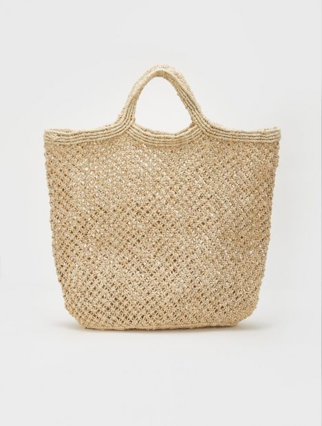 Jute Macramé Bag - Natural