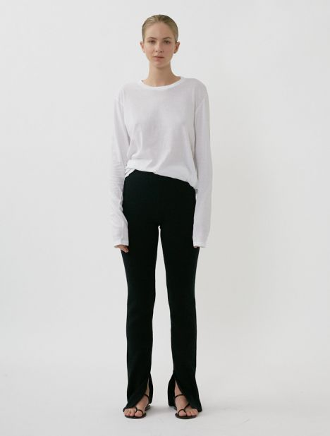 Knitted Flare Tight