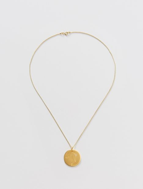 Libra Zodiac Constellation Pendant Necklace