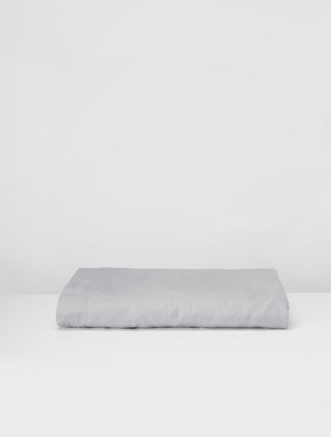 Linen Flat Sheet - Cool Grey