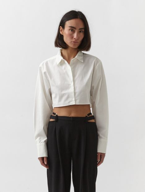 Lester Cropped Shirt