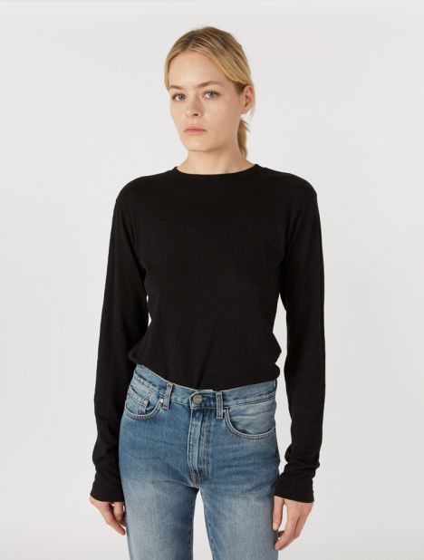 Classic Long Sleeve Tee - Black