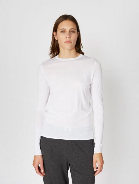Pima Cotton Long Sleeve Tee