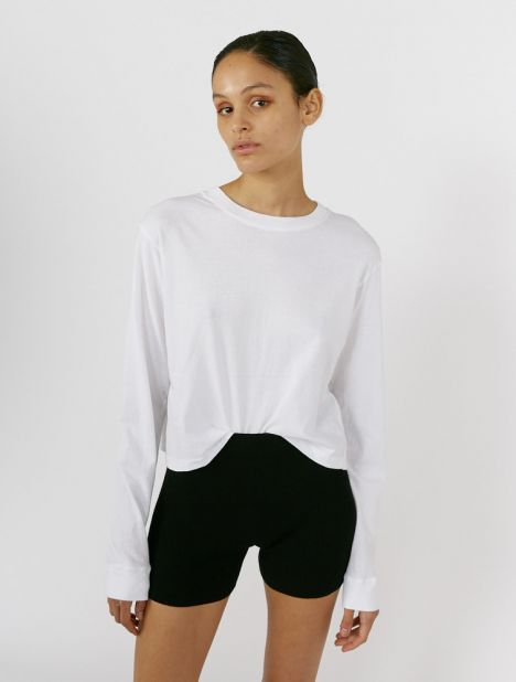 Vintage Long Sleeve T-Shirt - White