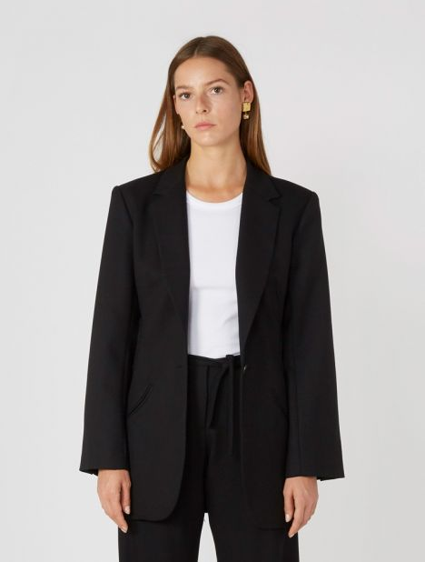 Floating Loophole Tie Blazer