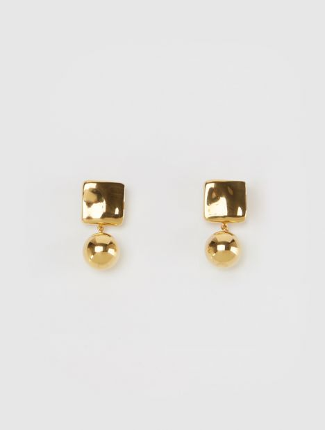 Luca Drop Earrings - Gold
