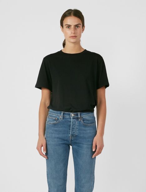 Luz 120 Organic Cotton T-Shirt - Black
