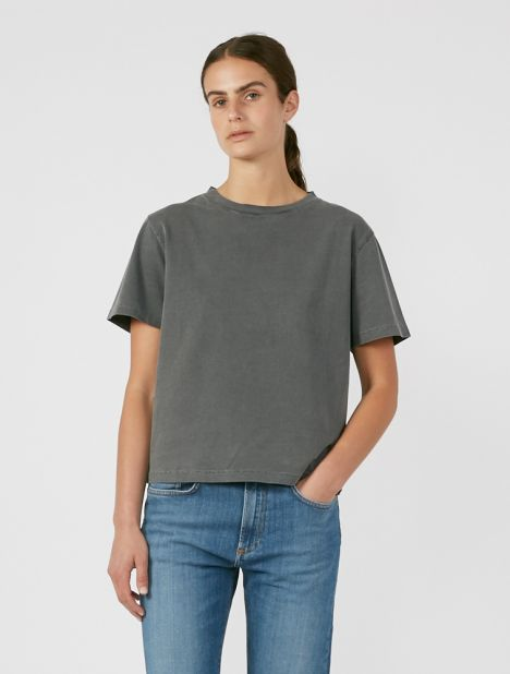Luz 200 Heavy Cotton T-Shirt - Washed Black
