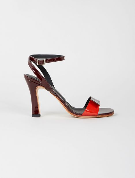 Margin Heeled Sandal