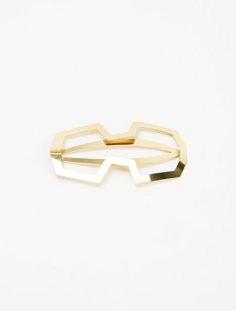 Marie Gold-Plated Hair Clip