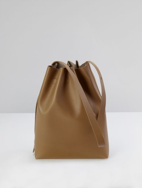 Marin Bucket Bag - Almond