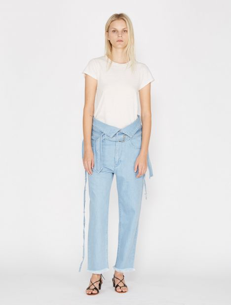 Crossover Belted Jean