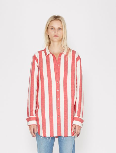 Loose Stripe Shirt