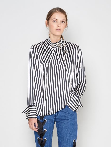 Halterneck Buckle Top