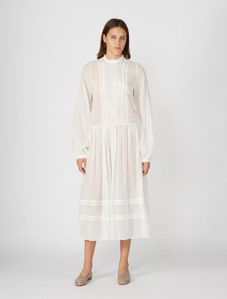 Deia Dress - White