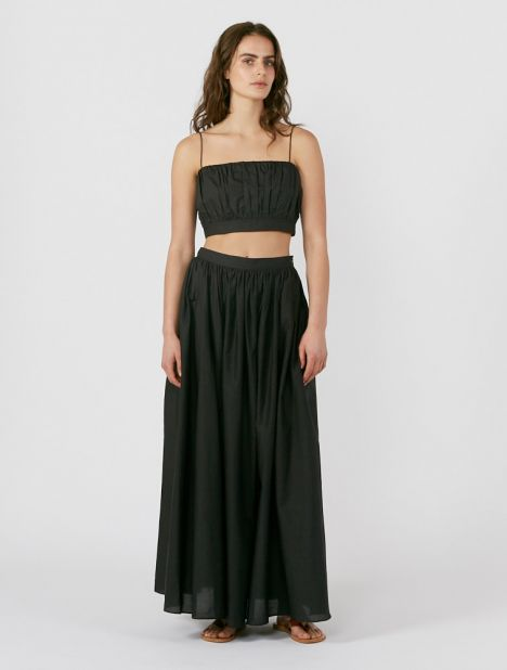 Voluminous Maxi Skirt