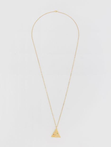 Méliès Large Pyramis Necklace - Gold