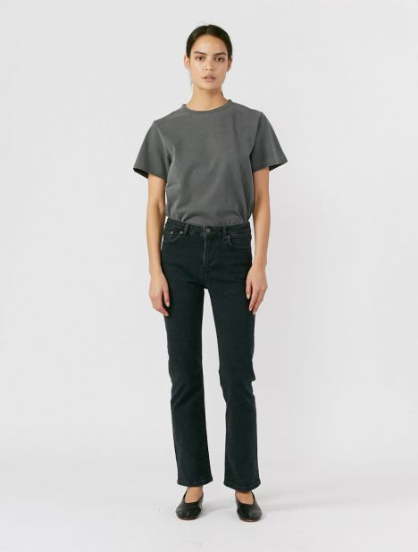 Midtown Drainpipe Jean - Used Black