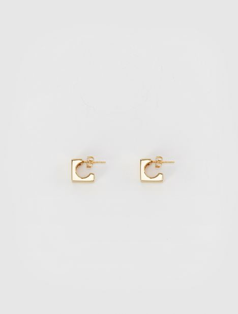 Mini Isa Earrings - Gold