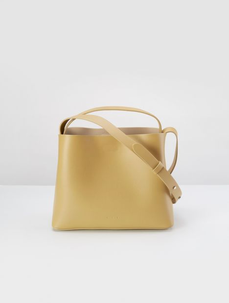 Mini Sac Leather Tote Bag - Antelope