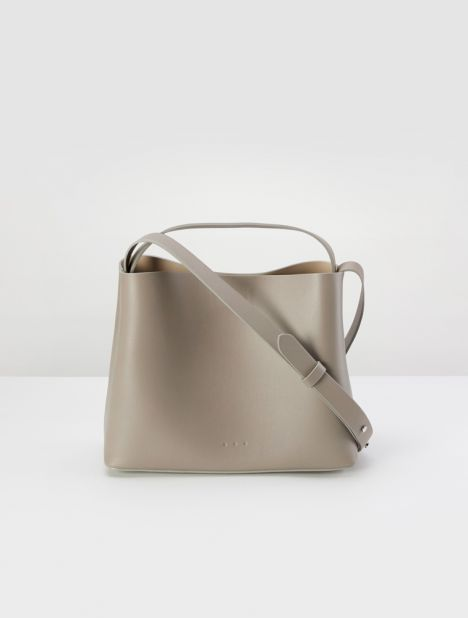 Mini Sac Leather Tote Bag - Fallen Rock