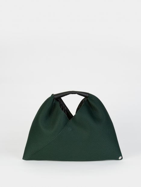 Mesh Mini Triangle Bag