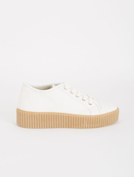 Platform Leather Sneaker
