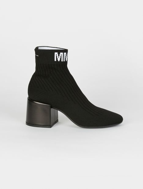 Ankle Ribbed Sock Boot